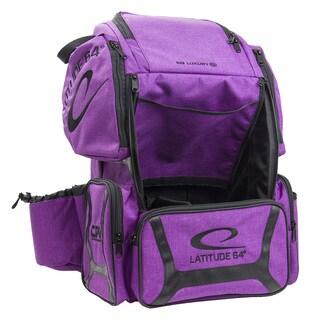 Latitude 64 DG Luxury E3 Purple Backpack Disc Golf Bag