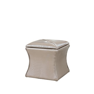 Svelte Contemporary Storage Ottoman Seating