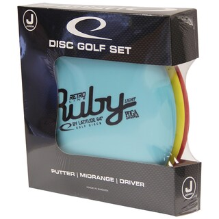 Latitude 64 Junior Retro Disc Golf Starter Set