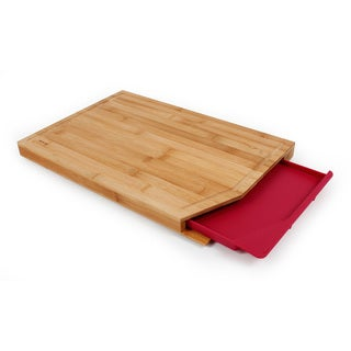 Neoflam Cut2Tray Bamboo Cutting Board with Removable Tray