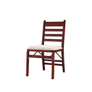 Contemporary Folding Chairs (Set of 2)