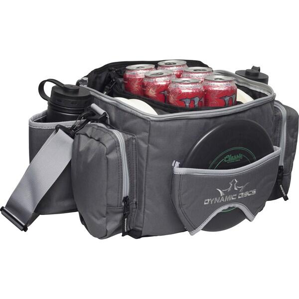 Dynamic Discs Soldier Cooler Dark Grey Disc Golf Bag