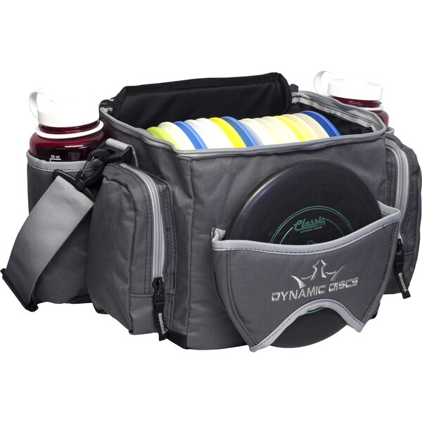 Dynamic Discs Soldier Dark Grey Disc Golf Bag