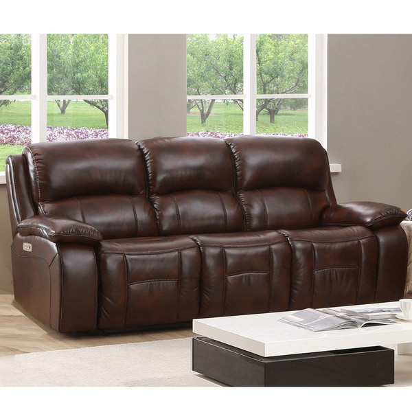 Shop Hydeline By Amax Westminster Ii Top Grain Leather