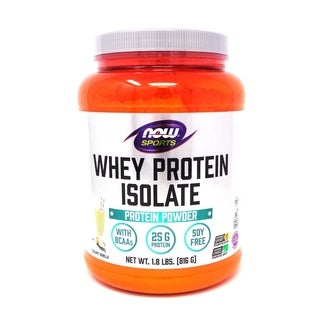 Now Foods Sports 1.8-pound Whey Protein Isolate Natural Vanilla