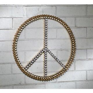 3-Tone Acrylic Bling Peace Sign