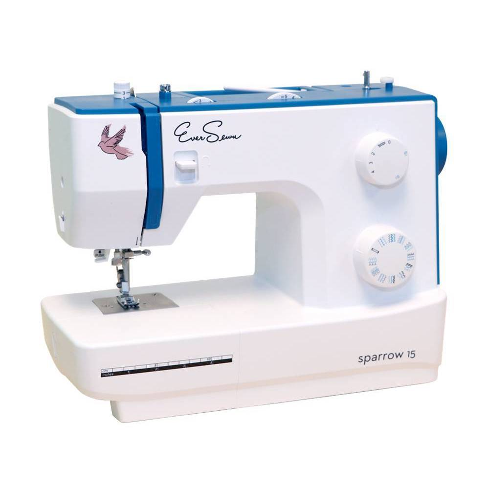 EverSewn Sparrow 15 Mechanical Sewing Machine (32 Stitch)...