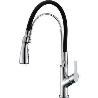 Dawn Single-lever Pull-out Chrome Kitchen Faucet