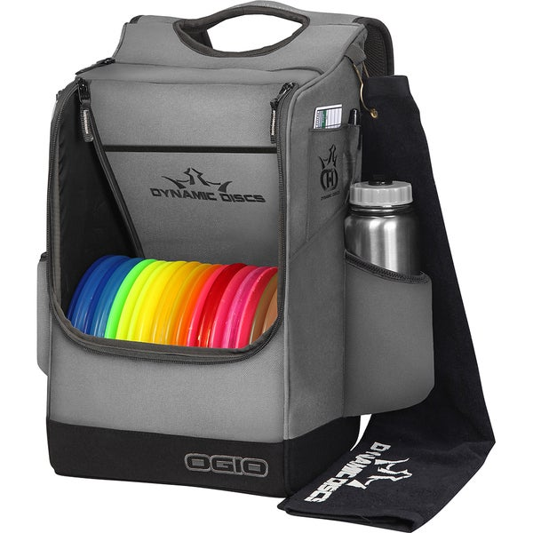 Dynamic Discs Sniper Light Grey Disc Golf Backpack