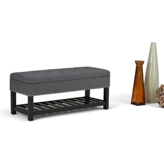 WYNDENHALL Riley Storage Ottoman Bench