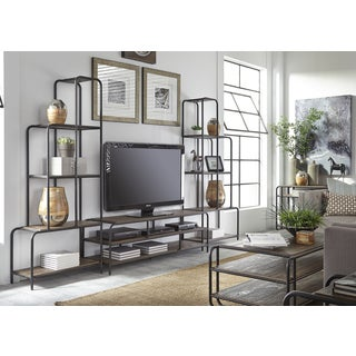 Loft House 3 Piece Urban Entertainment Center