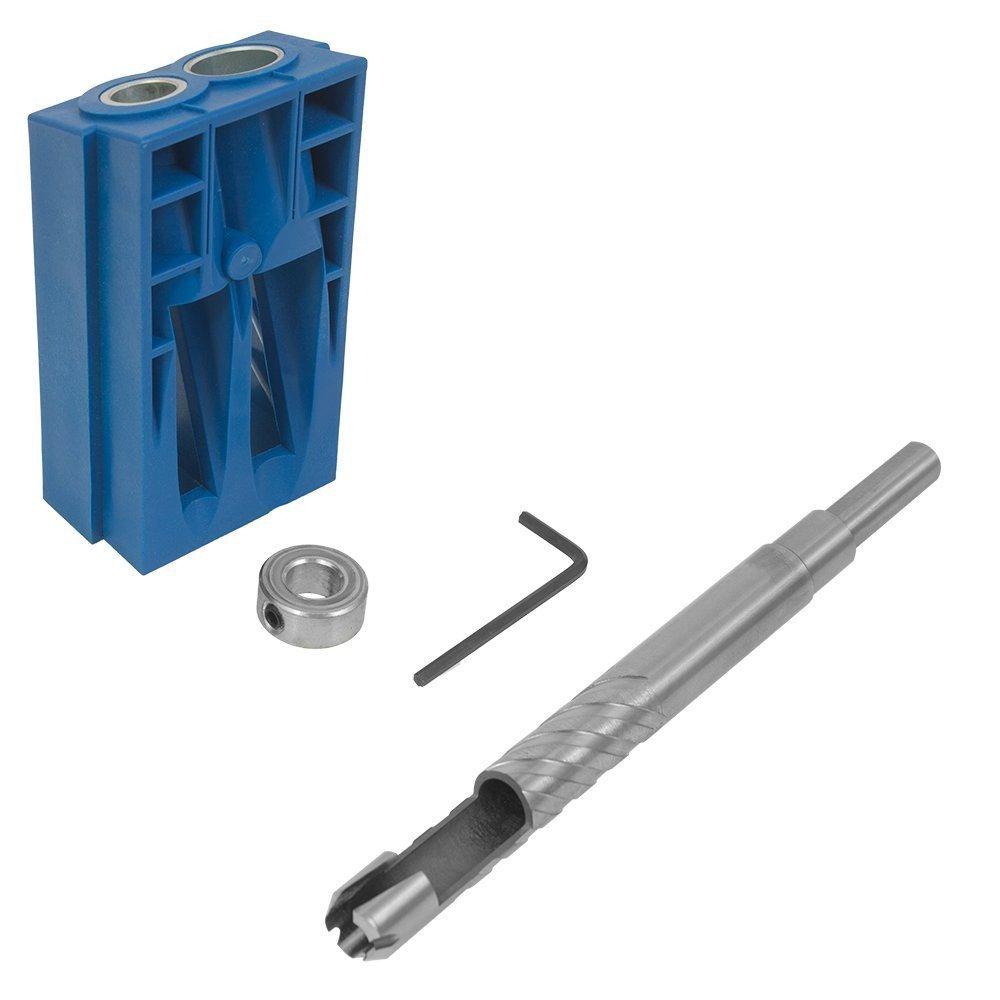 Kreg Kpcs Custom Pocket Hole Plug Cutter (Blue)