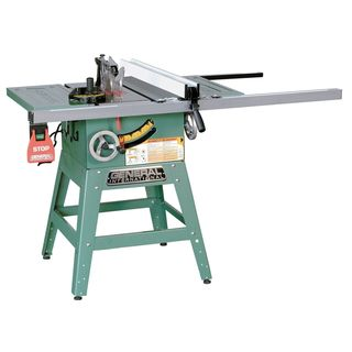 General International 10-inch Left Tilt Contractor Table Saw