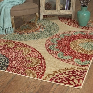 Mohawk Home Strata Lacey Medallions Area Rug (5' x 8')
