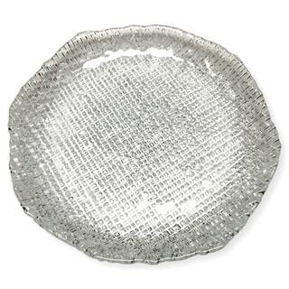 LUMIERE SET/4 DESSERT PLATES CLEAR