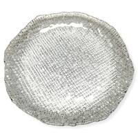 LUMIERE SET/4 DESSERT PLATES CLEAR