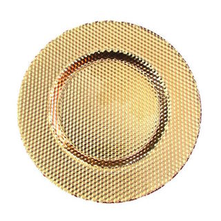 ILLUSION CHARGER PLATE GOLD