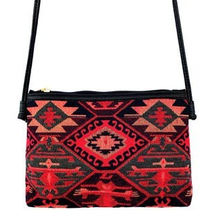 Red Pomegranate Kaftan 12-inch Crossbody Handbag|https://ak1.ostkcdn.com/images/products/14639427/P21178885.jpg?impolicy=medium