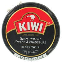 Kiwi 10231 2-1/2 Oz Black Shoe Polish