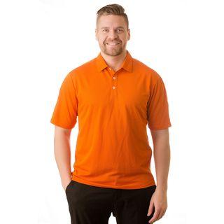 Nike Men's Orange Golf Polo