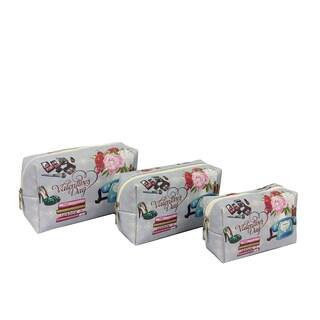ALFA Valentine's Day 3-piece Cosmetic Bag Set