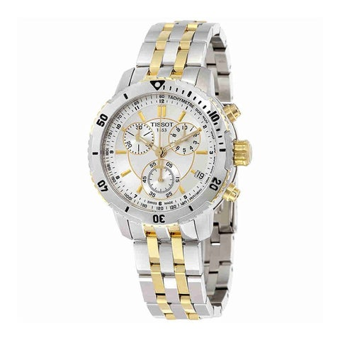 Tissot Men's 'PRS 200' Chronograph Stainless Steel Watch