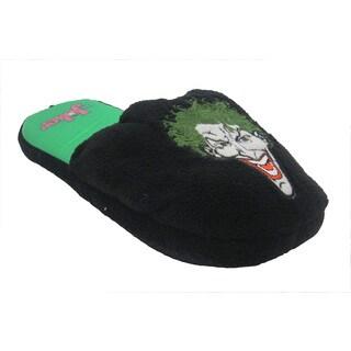 DC Comics 'Joker' Multicolor Plush Slippers