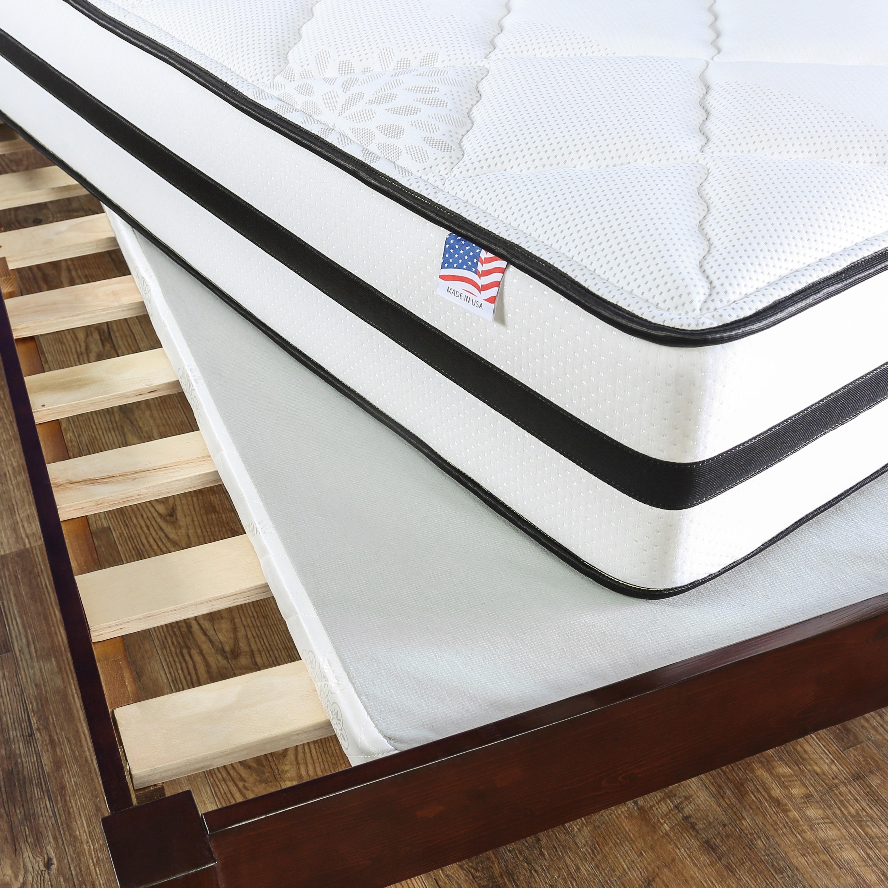 Shop Furniture Of America Tram Contemporary White Queen Fabric