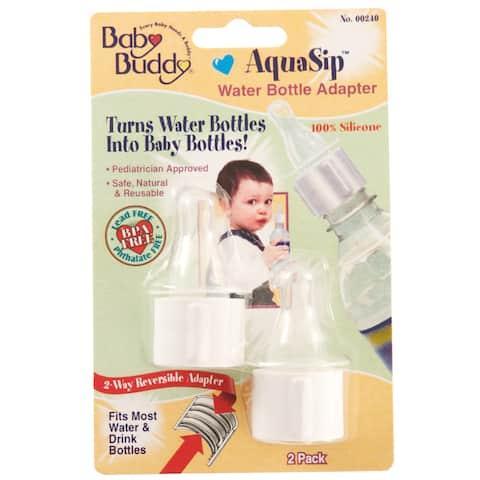 Compac 00240 2 Count AquaSip Water Bottle Adapter