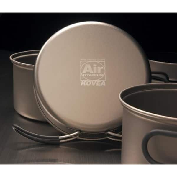 Shop Solo Lite Kit - Anodized Aluminum Pots Set with Stove