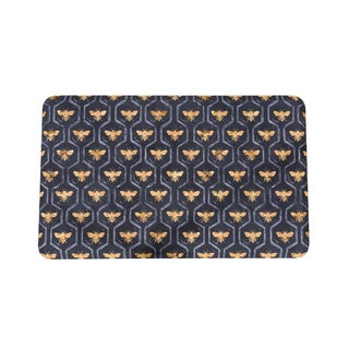 Somette Bees, Bees, Bees Anti-Fatigue Kitchen Mat (18 x 30)