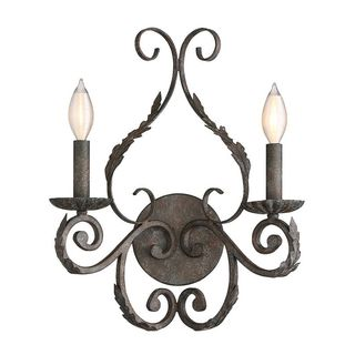 Blair 2-Light Fieldstone Wall Sconce
