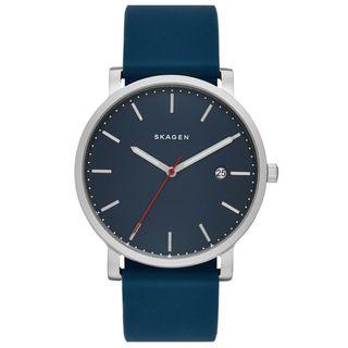 Skagen Men's SKW6343 'Hagen' Blue Silicone Watch