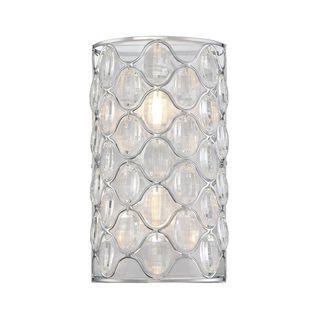 Opus 2-Light Polished Chrome Wall Sconce