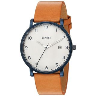 Skagen Men's SKW6325 'Hagen' Brown Leather Watch