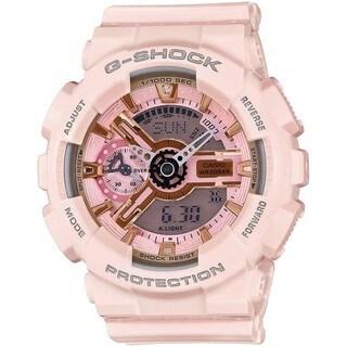 Casio G-Shock S Series Light Pink Analog - Digital Quartz