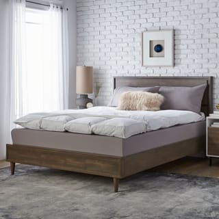 Super Snooze 5-inch 230 Thread Count Baffled Featherbed Set (Option: Queen)|https://ak1.ostkcdn.com/images/products/1464042/P1125204.jpg?impolicy=medium