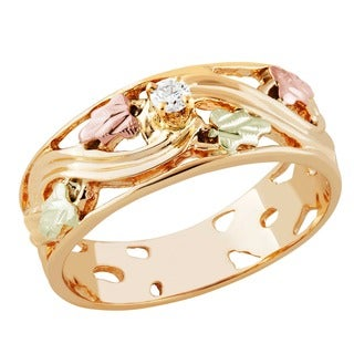 Black Hills Gold Diamond Ring (4 options available)