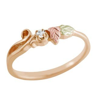 Black Hills Gold and Diamond Ring|https://ak1.ostkcdn.com/images/products/1464067/P1125229.jpg?impolicy=medium