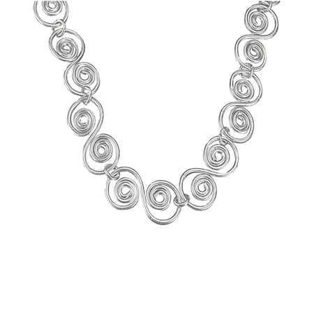 Sterling Silver Overlay Necklace