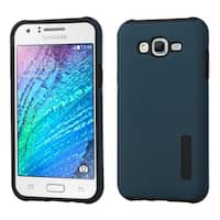 Insten Hard PC/ Silicone Dual Layer Hybrid Rubberized Matte Case Cover For Samsung Galaxy J7 (2015)