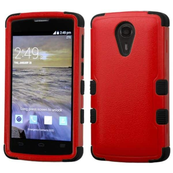 Shop Insten Hard PC/ Silicone Dual Layer Hybrid Rubberized