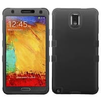 Insten Hard PC/ Silicone Dual Layer Hybrid Rubberized Matte Case Cover For Samsung Galaxy Note 3