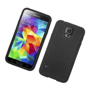Insten Hard Snap-on Dual Layer Hybrid Case Cover For Samsung Galaxy S5 SM-G900