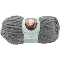 Deborah Norville Collection Serenity Chunky Heathers Yarn-Smoke
