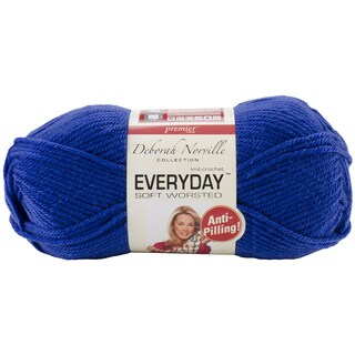 Deborah Norville Collection Everyday Solid Yarn-Royal Blue