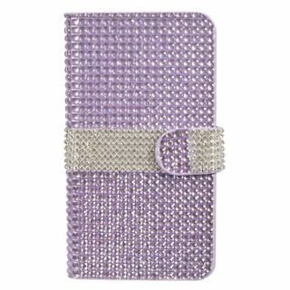 Insten Leather Rhinestone Bling Case Cover with Wallet Flap Pouch For LG V10