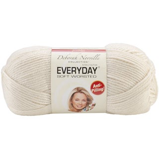 Deborah Norville Collection Everyday Solid Yarn-Cream