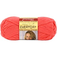 Deborah Norville Collection Everyday Solid Yarn-Coral