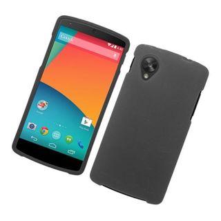 Insten Hard Snap-on Rubberized Matte Case Cover For LG Google Nexus 5 D820 D820